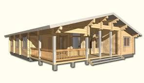 Преимущества одноэтажных финских домов